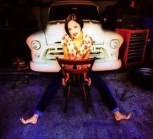 Marissa & Truck by YoPedro