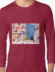 Abstract talk 011 Long Sleeve T-Shirt
