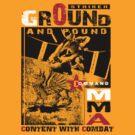 mma ground and pound by redboy