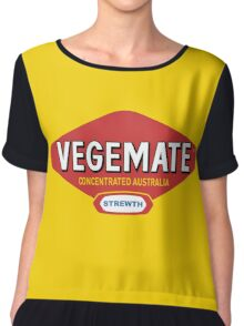 Vegemate T-shirt Chiffon Top
