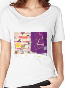 Abstract talk 012 Women's Relaxed Fit T-Shirt