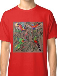 Birds from Paradise. Rosellas Classic T-Shirt