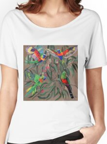 Birds from Paradise. Rosellas Women's Relaxed Fit T-Shirt
