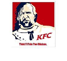 The Hound KFC Chicken. Photographic Print