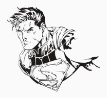 The Man of Steel (Ink) by Loftworks