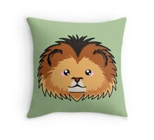 Lion - African Wildlife Throw Pillow