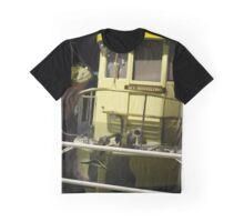 Yellow Boat Graphic T-Shirt