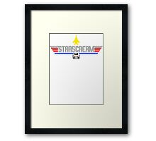 Top Starscream Framed Print