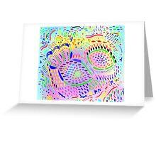 Sea Dreams #2, original drawing Greeting Card