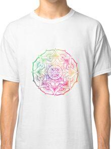 Bohemian Watercolor Mandala Classic T-Shirt