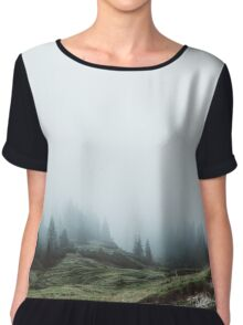 In the mountains again Chiffon Top