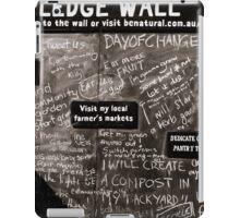 Pledge Wall iPad Case/Skin
