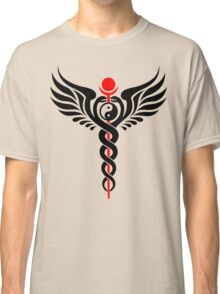 Caduceus - Yin Yang - Winged Serpent - Hermetic Classic T-Shirt
