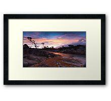 Bay of Fires Sunset Framed Print