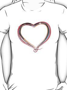 Funky heart illustration T-Shirt