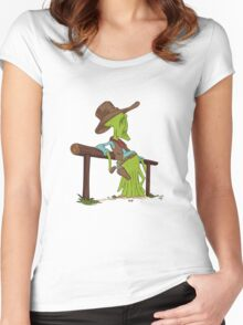 COWBOYS & ALIENS Women's Fitted Scoop T-Shirt
