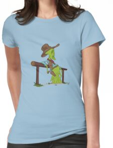 COWBOYS & ALIENS Womens Fitted T-Shirt