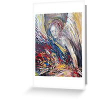 The time of weeping angels Greeting Card