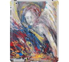 The time of weeping angels iPad Case/Skin