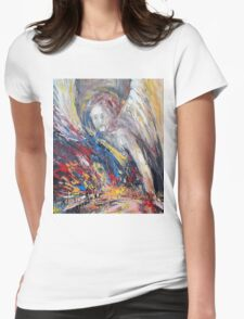 The time of weeping angels Womens Fitted T-Shirt
