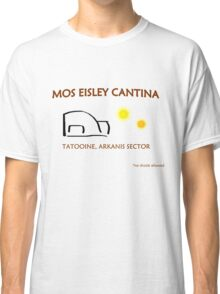 Mos Eisley Cantina Promo Classic T-Shirt