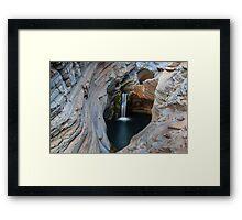 Spa Pool Framed Print