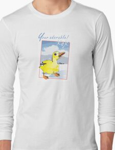 Your adorable ducky Long Sleeve T-Shirt