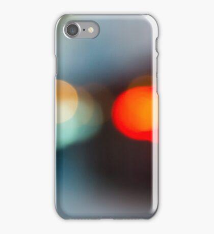 cityscape eve bokeh iPhone Case/Skin