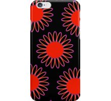 Big Red Daisy Abstract iPhone Case/Skin