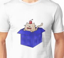 Whovian Cat Unisex T-Shirt