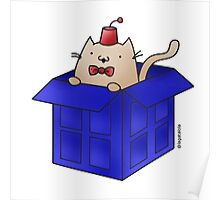 Whovian Cat Poster