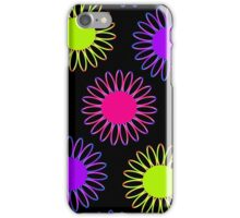 Big Mix-Up Daisy Abstract iPhone Case/Skin
