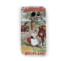 Performing Arts Posters The singing comedian Andrew Mack in the greatest of Irish plays Myles Aroon 0733 Samsung Galaxy Case/Skin