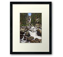 Ouzel Falls, Colorado Framed Print