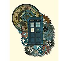 TARDIS Art Doctor Who  Photographic Print