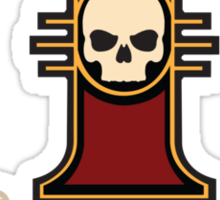 Ordo Malleus (Warhammer) Sticker