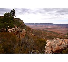 Australian Outback Stormy Day Photographic Print