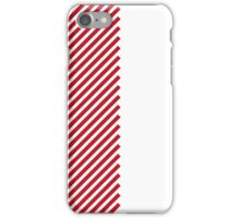 Red Lines iPhone Case/Skin