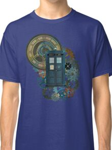 TARDIS Art Doctor Who  Classic T-Shirt