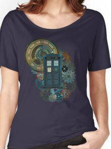 TARDIS Art Doctor Who  Women's Relaxed Fit T-Shirt