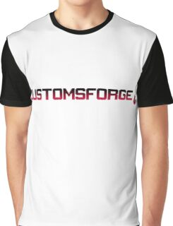 CustomsForge pixel logo Graphic T-Shirt