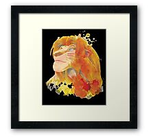 The King of Jungle Framed Print