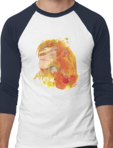 The King of Jungle Men's Baseball ¾ T-Shirt