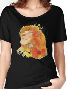 The King of Jungle Women's Relaxed Fit T-Shirt