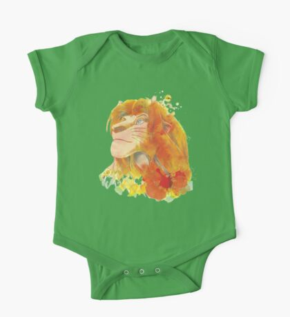 The King of Jungle One Piece - Short Sleeve