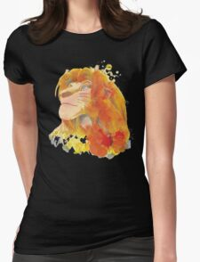 The King of Jungle Womens Fitted T-Shirt