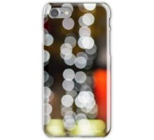 abstract background of blurred lights of restaurant iPhone Case/Skin