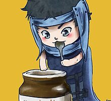 Kuro may or may not have stolen this Nutella... maybe by redfur