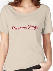 CustomsForge old-timey logo Women's Relaxed Fit T-Shirt