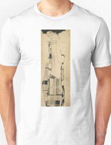 Egon Schiele - Standing Girl  Unisex T-Shirt